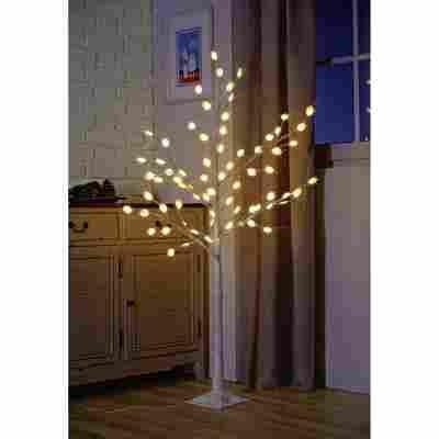 LED-Baum warmweiß 72 LEDs, batteriebetrieben