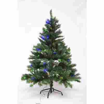LED-Tannenbaum grün 120 cm, mit Metallständer