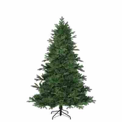 Künstlicher Weihnachtsbaum 'Brampton' grün/frosted 215 cm