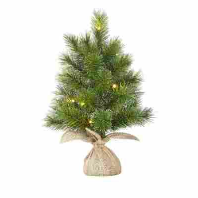 Künstlicher Weihnachtsbaum 'Glendon' grün 60 cm, mit LED-Beleuchtung