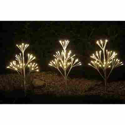 LED-Lichterbaum-Set 144 LEDs warmweiß 60 cm