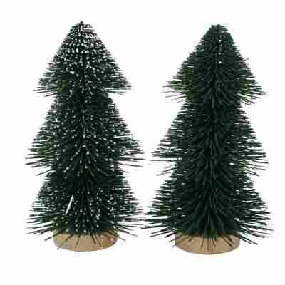 Deko-Aufsteller 'Tarvo' Tannenbaum 20 cm, 2 Designs sortiert