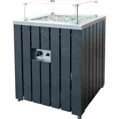 Gas-Feuerstelle 'Asano' Anthrazit 60 x 60 x 61 cm