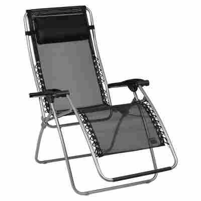 Relaxliegestuhl 'RSXA' schwarz 68 x 115 x 68 cm