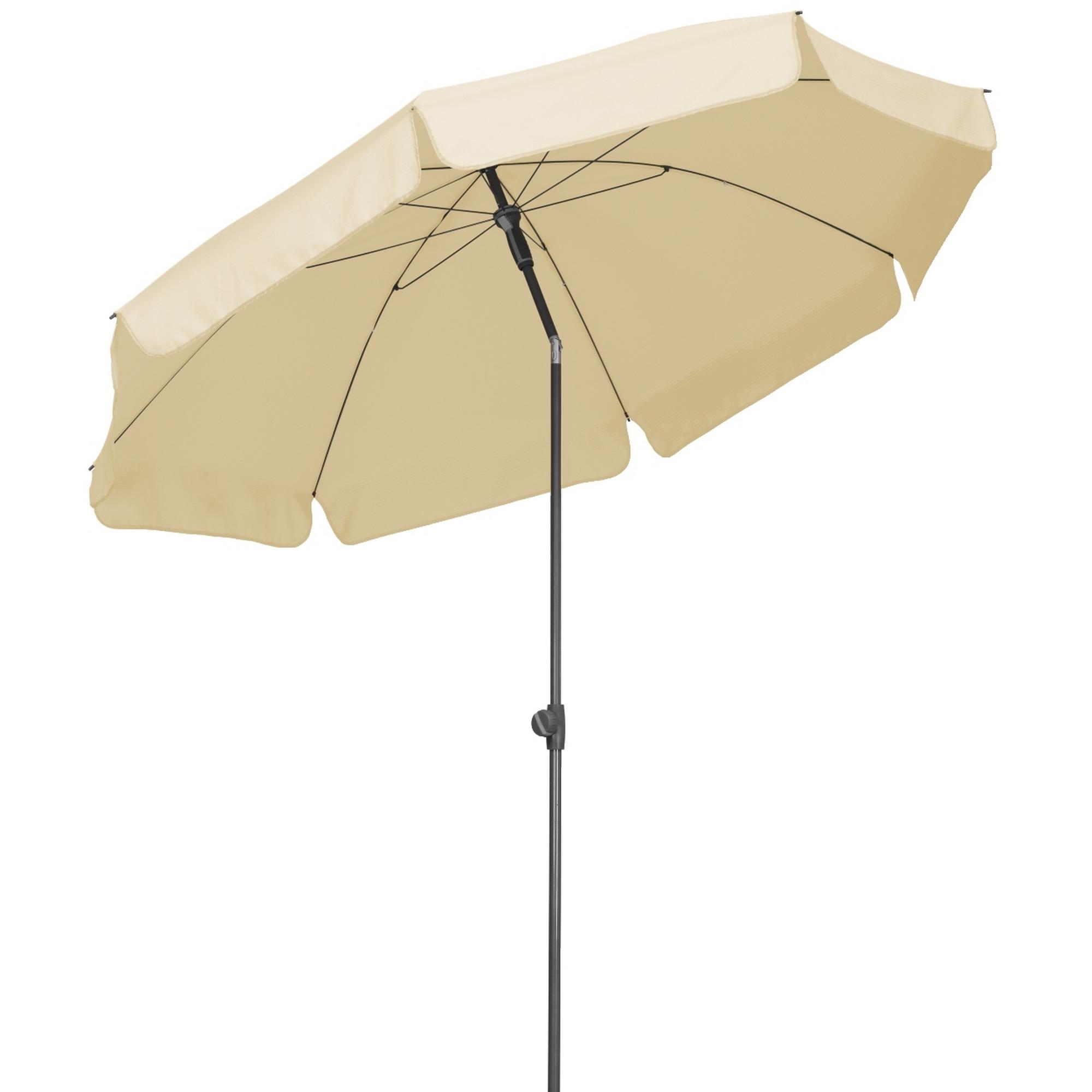 Schneider Schirme Sonnenschirm AQUILA, Ø 200 cm, natur