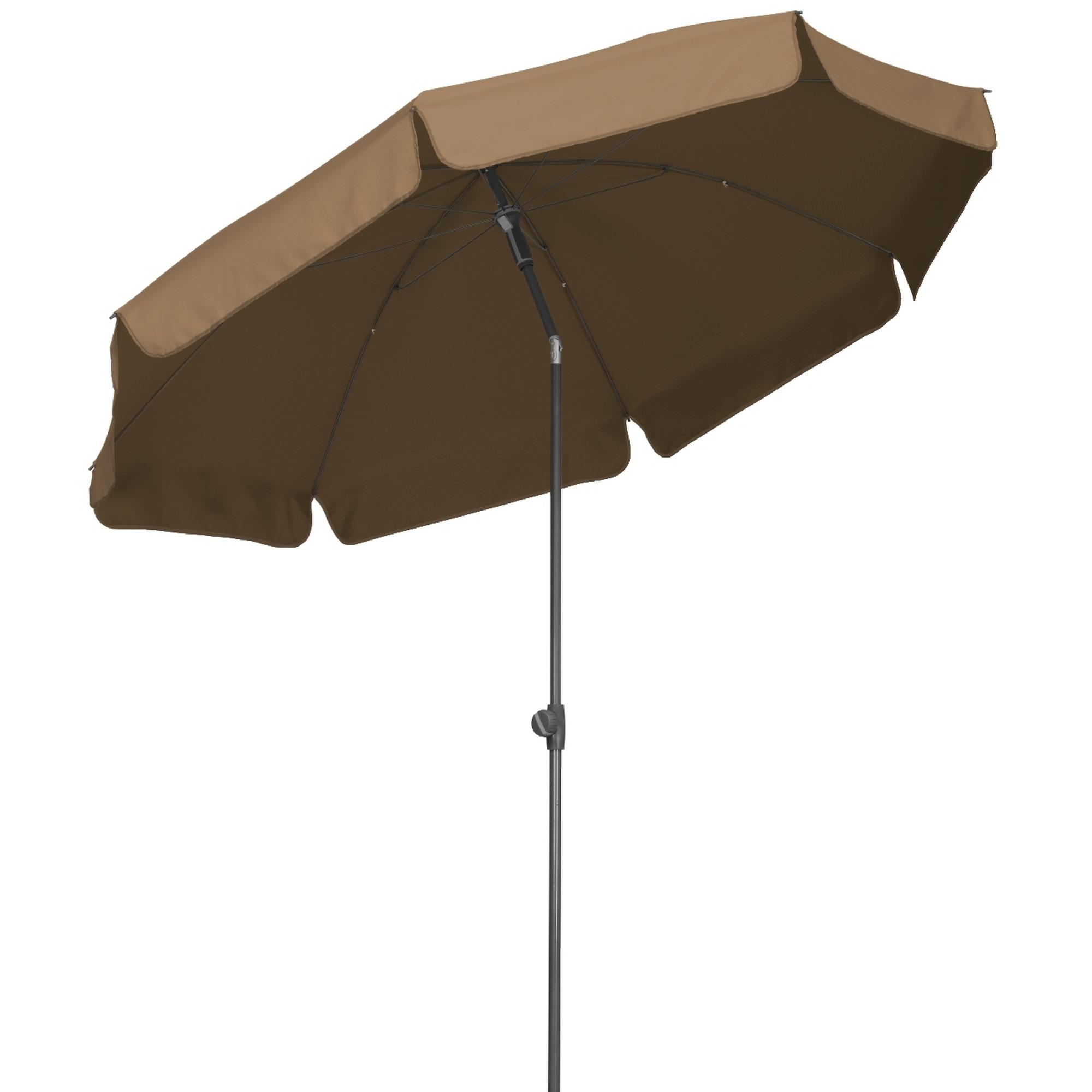 Schneider Schirme Sonnenschirm AQUILA, Ø 200 cm, mocca