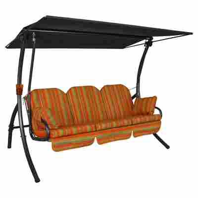 Hollywoodschaukel 'Primero Deluxe' 3-Sitzer terrakotta
