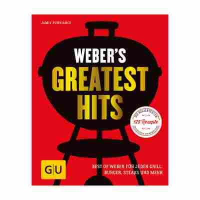 Grillbuch Jamie Purviance 'Weber's Greatest Hits: Best of Weber für jeden Grill - Burger, Steaks und Mehr'