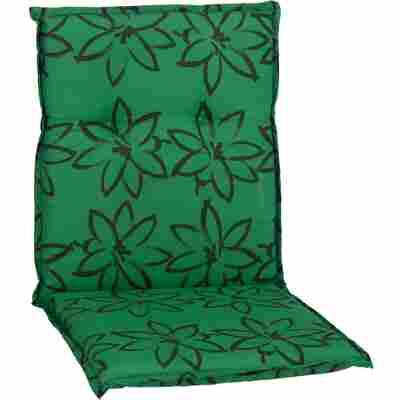 Niedriglehner 'Bodrum' grün/schwarz 51 x 101 x 6 cm