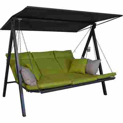 Hollywoodschaukel 'Lounge Smart' 3-Sitzer lime