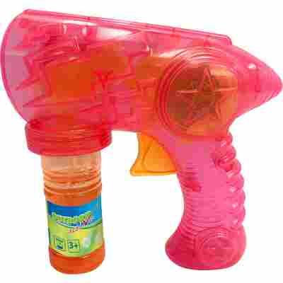 Seifenblasenpistole mit LED-Funktion, 59 ml, rot