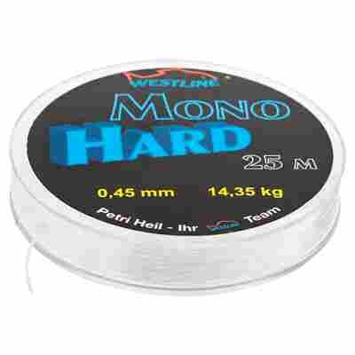 "Vorfachmaterial ""Hard Mono"" Ø 0,45 mm x 25 m"