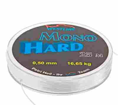 "Vorfachmaterial ""Hard Mono"" Ø 0,5 mm x 25 m"