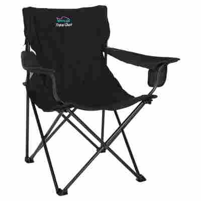 Campingstuhl Travel Chair Polyester schwarz