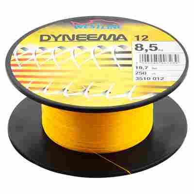 """Angelschnur """"Dyneema"""" gelb 8,5 kg 250 m"""