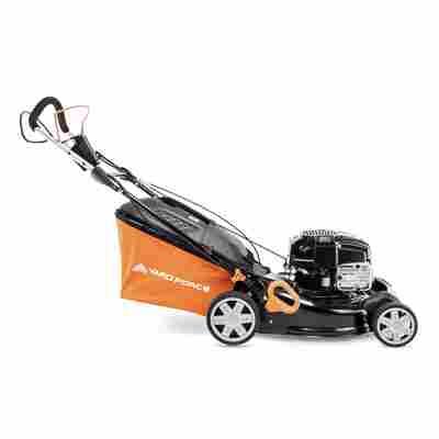 Benzin-Rasenmäher 'GM B46E' orange/schwarz 46 cm, mit Radantrieb