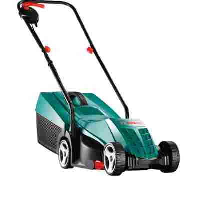 Elektro-Rasenmäher 'Rotak 32' grün, mit Powerdrive-Motor