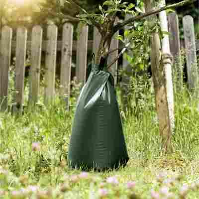 Baumbewässerungsbeutel grün, 56 l