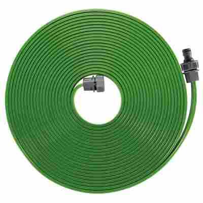 Schlauchregner-Set 15 m grün