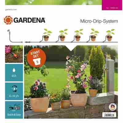 Bewässerungs-Start-Set S 'Micro-Drip-System' für Pflanztöpfe