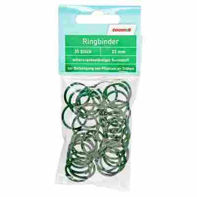 Ringbinder Ø 22 mm grün 35 Stück