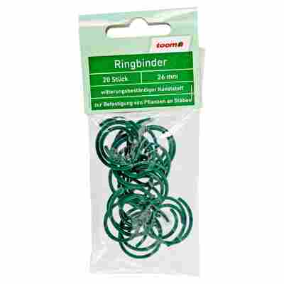 Ringbinder Ø 26 mm grün 20 Stück