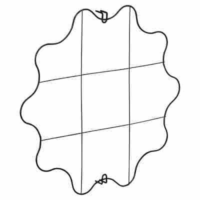 Pflanzengitter senkrecht Ø 54 cm wellenförmig