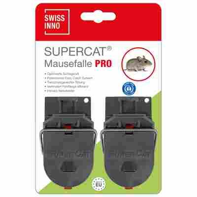 Mausefalle 'SuperCat' Pro mit Naturköder 2 Stück