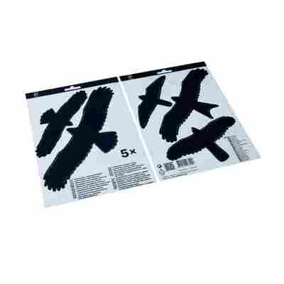 Vogelschutz-Fensteraufkleber 5 Stück