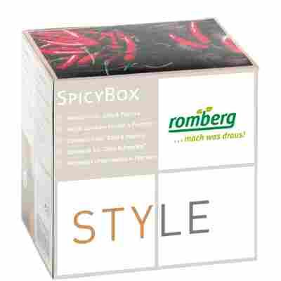 Anzucht-Set STYLE Spicy-Box 'Chili & Paprika'