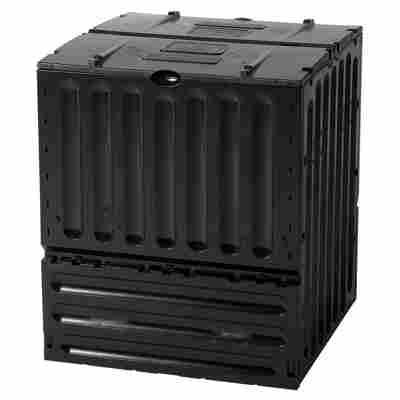 Komposter 'Eco-King' schwarz 400 Liter 70 x 70 x 83 cm