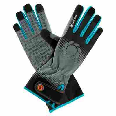 Strauchpflegehandschuhe, Größe 9/L, grau/schwarz