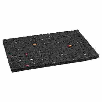 Auflagepads schwarz 9 x 6 x 0,3 cm 60 Stück