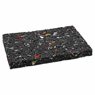 Auflagepads schwarz 9 x 6 x 0,8 cm 48 Stück