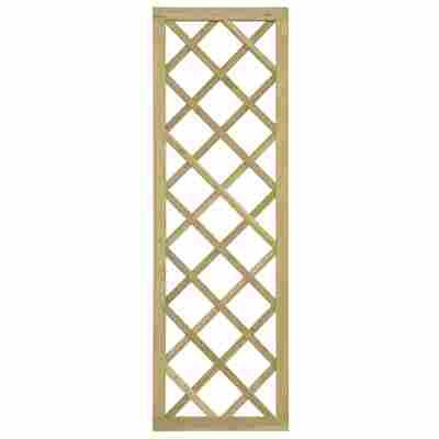Rankgitter diagonal 180 x 60 cm KDI grün