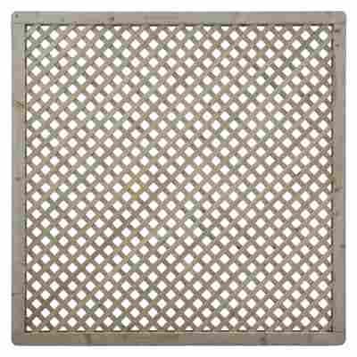 Rankgitter diagonal 180 x 180 cm grün