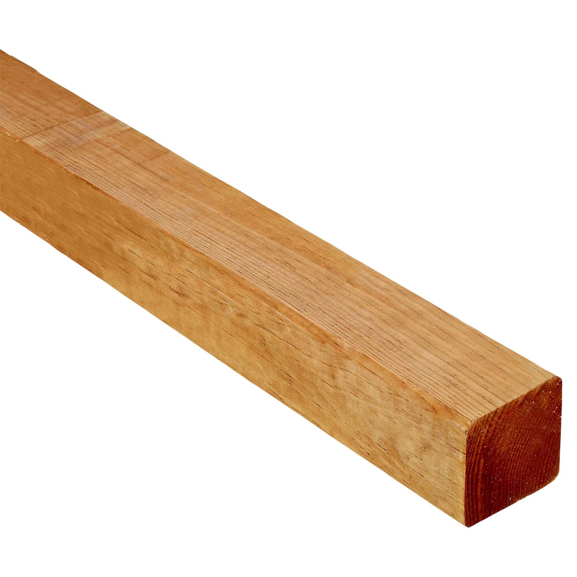 Vierkantpfosten Braun 7 X 7 X 180 Cm ǀ Toom Baumarkt