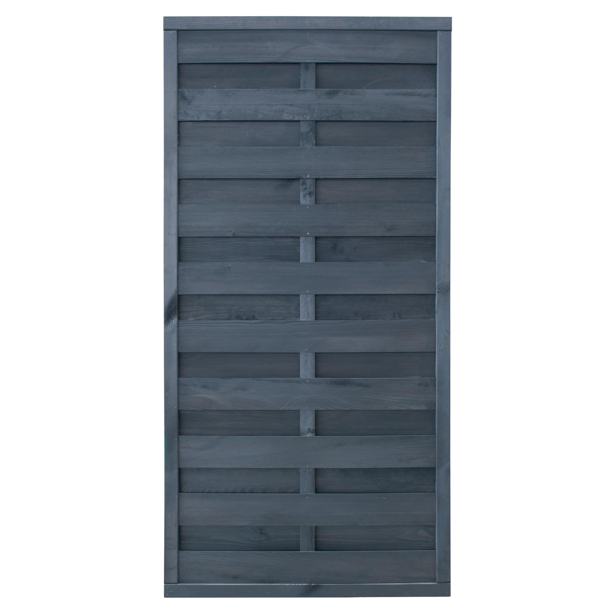 Sichtschutzzaun Koln 90 X 180 Grau Gebeizt ǀ Toom Baumarkt
