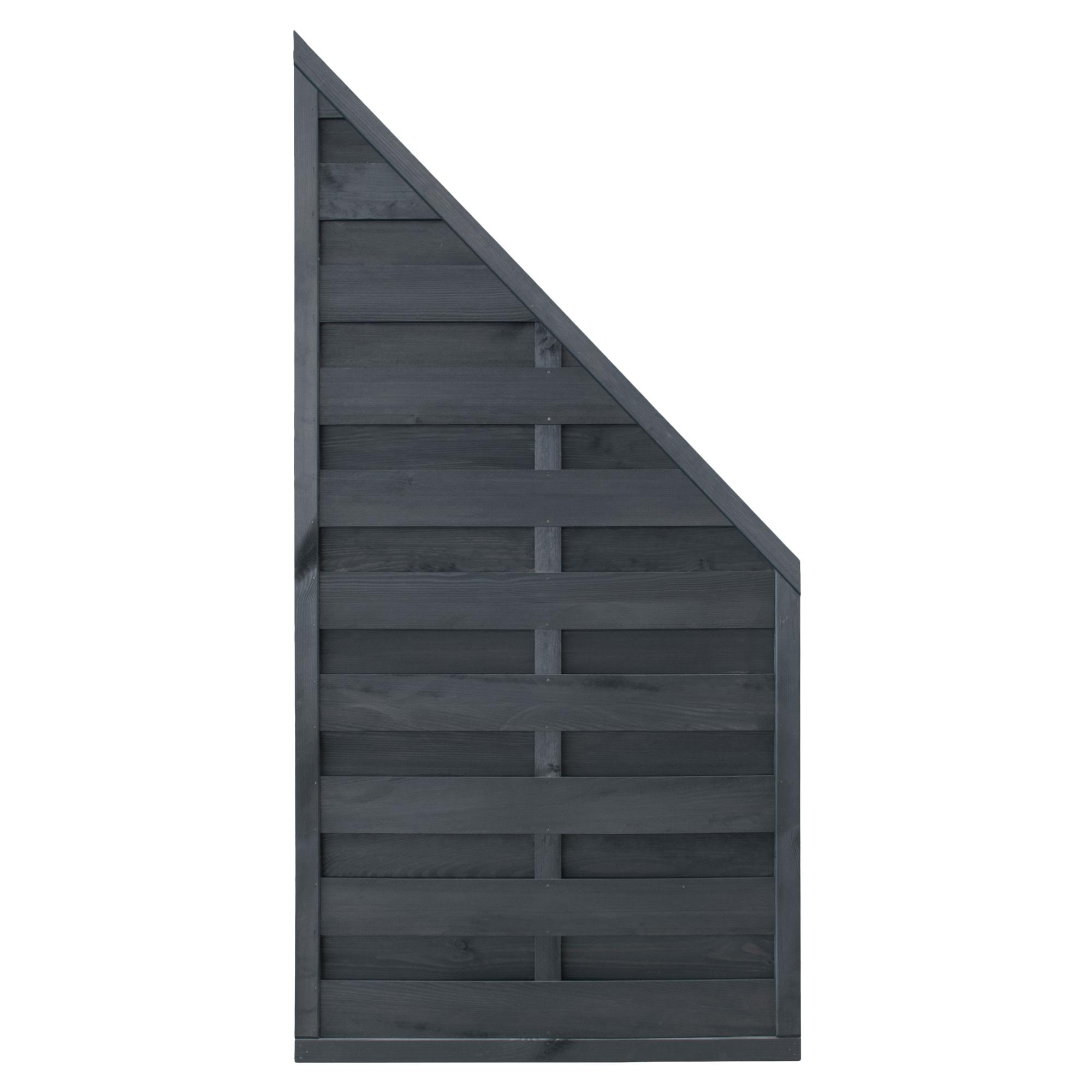 Dichtzaun Schrag 180 X 90 Cm Grau ǀ Toom Baumarkt