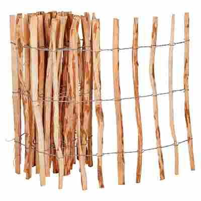 Rollzaun haselnussfarben 500 x 80 cm