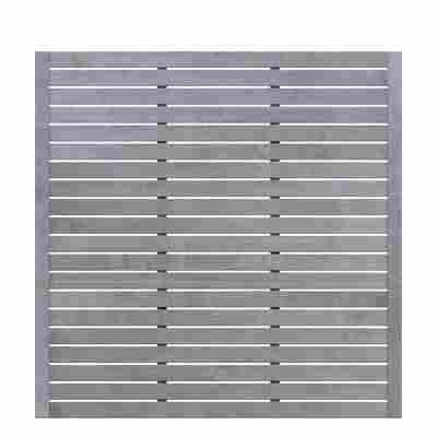 Sichtschutzzaun 'Neo Design' grau 179 x 179 cm