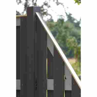 Aufsatzleiste Aluminium schmal, für Rahmen 35-38 mm