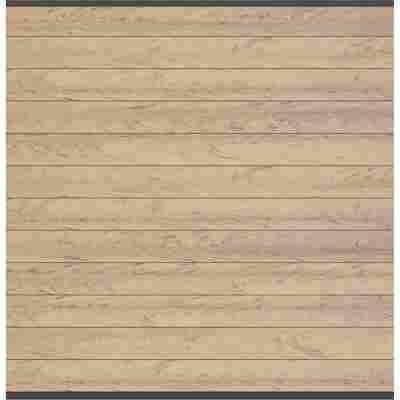 Zaunfeld-Set 'System WPC' sand anthrazit 178 x 183 cm