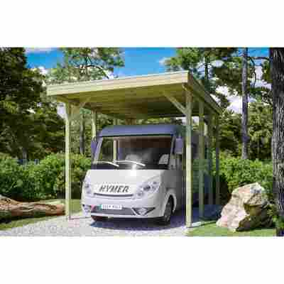 Caravan-Carport 'Friesland' 397 x 555 cm imprägniert