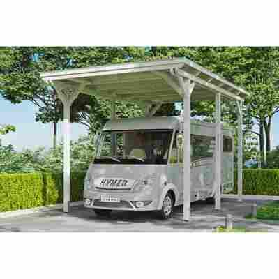 Caravan-Carport 'Emsland' 404 x 604 cm weiß