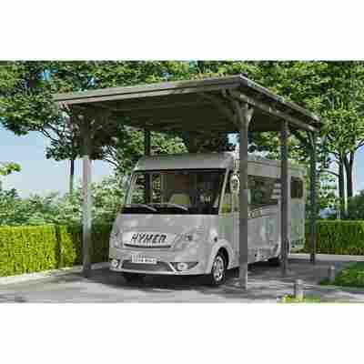 Caravan-Carport 'Emsland' 404 x 604 cm schiefergrau