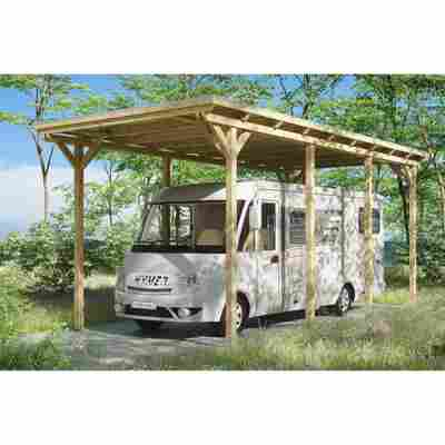 Caravan-Carport 'Emsland' 404 x 846 cm unbehandelt