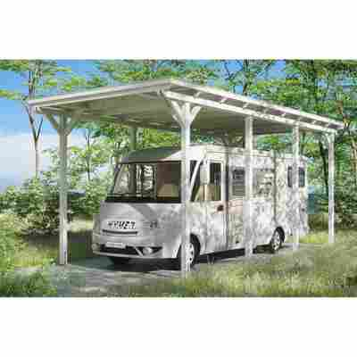 Caravan-Carport 'Emsland' 404 x 846 cm weiß