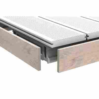 WPC-Abschlussleiste 'DreamDeck BiColor' sand 1 x 8 x 200 cm
