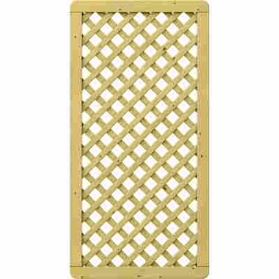 Zaunelement 'Gada' Gitter braun 89 x 179 cm